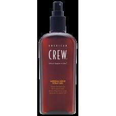 American Crew Classic Medium Hold Spray Gel - Спрей-гель для волос средней фиксации 250 мл
