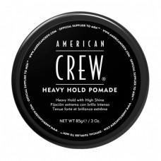 American Crew Heavy Hold Pomade - Помада для укладки жесткой фиксации 85 гр