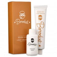 Borodist Beard Dye LIGHT BROWN - Краска для бороды СВЕТЛО-КОРИЧНЕВАЯ 50гр