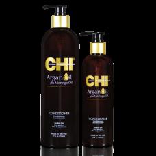 CHI Argan Oil Conditioner - Восстанавливающий кондиционер с маслом арганы, 750 мл.