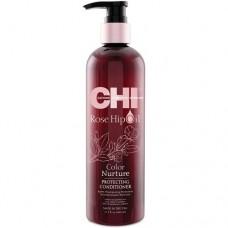 CHI Rose Hip Oil Protecting Conditioner - Кондиционер с маслом розы и кератином 739 мл.