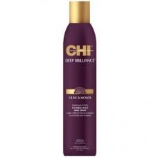 CHI Deep Brilliance Olive & Monoi Optimum Finish Flexible Hold Hair Spray - Лак для волос эластичной фиксации 296мл