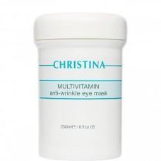CHRISTINA Multivitamin Anti–Wrinkle Eye Mask - Мультивитаминная маска против морщин для кожи вокруг глаз 250мл