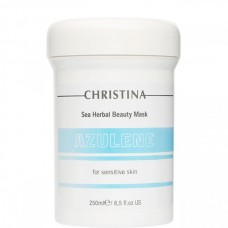 CHRISTINA Sea Herbal Beauty Mask AZULEN - Азуленовая маска красоты для чувствительной кожи 250мл