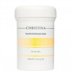 CHRISTINA Sea Herbal Beauty Mask VANILLA - Ванильная маска для СУХОЙ кожи 250мл