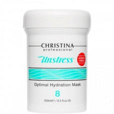 CHRISTINA Unstress Optimal Hydration Mask - Оптимально увлажняющая маска (шаг 8), 250мл