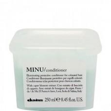 Davines MINU/ conditioner - Кондиционер для сохранения цвета 250мл