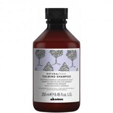 Davines NATURALTECH Calming Shampoo - Успокаивающий шампунь для чувствительной кожи головы 250мл