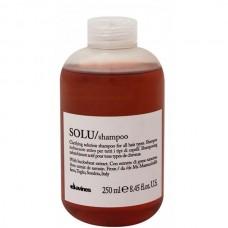 Davines SOLU/ shampoo - Шампунь для глубокого очищения волос и кожи головы 250мл