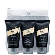 DSD de Luxe Restructuring and Hair Loss Treatment Travel Set - Дорожный Набор Двойного Действия 50 + 50 + 50мл