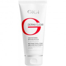 GIGI DERMA CLEAR Skin face wash - Очищающий мусс для жирной и проблемной кожи 100мл