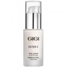 GIGI ESTER C Total Serum - Увлажняющая сыворотка с эффектом осветления для всех типов кожи 30мл