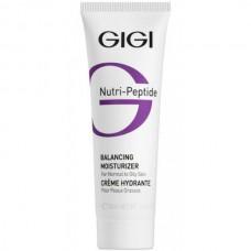 GIGI NUTRI-PEPTIDE Balancing Moisturizer - Пептидный балансирующий крем для жирной и комбинированной кожи 50мл