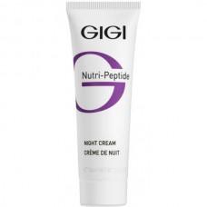 GIGI NUTRI-PEPTIDE Night Cream - Пептидный ночной крем для всех типов кожи 50мл