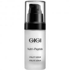 GIGI NUTRI-PEPTIDE Vitality Serum - Пептидная оживляющая сыворотка для всех типов кожи 30мл