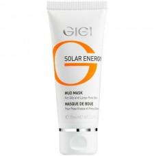 GIGI SOLAR ENERGY Mud mask for oil skin - Маска грязевая для жирной и проблемной кожи 75мл