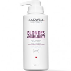 Goldwell Dualsenses Blondes & Highlights 60SEC Treatment - Интенсивный уход за 60 секунд для осветленных волос 500мл