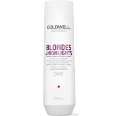 Goldwell Dualsenses Blondes & Highlights Anti-Yellow Shampoo - Шампунь против желтизны для осветленных волос 250мл