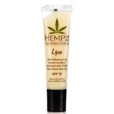 HEMPZ Lip Balm SPF15 - Бальзам для Губ SPF15, 14.5гр