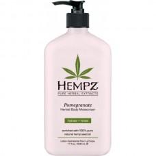 HEMPZ HERBAL Body Moisturizer Pomegranate Herbal Body - Молочко для Тела Увлажняющее с Гранатом 500мл