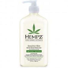 HEMPZ HERBAL Body Moisturizer Sensitive Skin - Молочко для Тела Увлажняющее Чувствительная Кожа 500мл