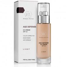 Holy Land AGE DEFENSE CC Cream Light SPF50 - Корректирующий крем, натуральный оттенок 50мл