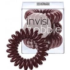 Invisibobble Classic Chocolate Brown - Резинка-браслет для волос, цвет Коричневый 3шт