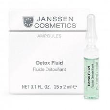JANSSEN Cosmetics Ampoules Detox Fluid - Детокс-сыворотка в ампулах 3 х 2мл