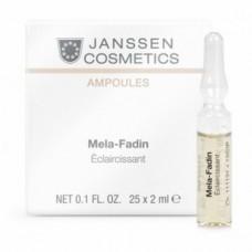 JANSSEN Cosmetics Ampoules Мela-Fadin (skin lightening) - Осветляющие ампулы 3 х 2 мл