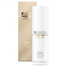 JANSSEN Cosmetics MATURE SKIN Micellar Skin Tonic - Мицеллярный тоник с гиалуроновой кислотой 200мл