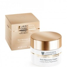 JANSSEN Cosmetics MATURE SKIN Rich Recovery Cream - Обогащенный Антивозрастной регенерирующий крем 50мл