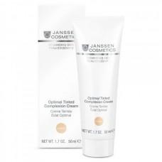 JANSSEN Cosmetics Demanding Skin Optimal Tinted Complexion Cream Medium - Дневной Крем Оптимал Комплекс (SPF 10) 50мл