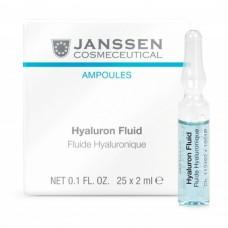 JANSSEN Cosmetics Ampoules Hyaluron Fluid - Ультраувлажняющая Сыворотка с Гиалуроновой Кислотой 3 х 2мл