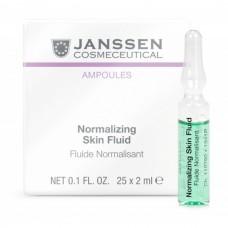 JANSSEN Cosmetics Ampoules Normalizing Fluid - Нормализующий концентрат для ухода за жирной кожей 3 х 2 мл