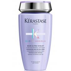 Kerastase BLOND ABSOLU Bain Ultra-Violet Shampoo - Шампунь-ванна фиолетовый, нейтрализующий желтые полутона 250мл
