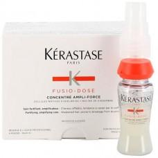 Kerastase Fusio-Dose Concentre Anpli-Force - Концентрат для укрепления ослабленных и склонных к выпадению волос 10 х 12мл