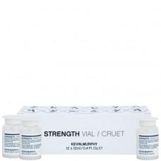 KEVIN.MURPHY STRENGTH CRUET / VIAL - Сыворотка-уход в ампулах СИЛА 12 х 12мл