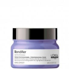 L'OREAL Professionnel BLONDIFIER Masque - Маска-сияние для волос восстанавливающая 250мл