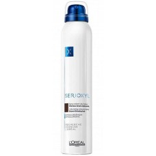 L'OREAL Professionnel SERIOXYL Volumising Coloured Spray BROWN - Спрей-камуфляж для волос БРЮНЕТ 200мл