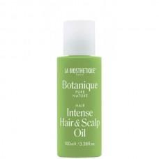 LA BIOSTHETIQUE Botanique Intense Hair & Scalp Oil - Питательное масло для волос и кожи головы 100мл