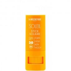 LA BIOSTHETIQUE METHODE SOLEIL Stick Solaire (SPF 30) Visage - Водостойкий стик для интенсивной защиты чувствительной кожи губ, глаз, носа, ушей (SPF 30), 8гр