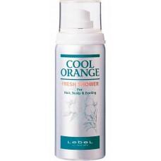 Lebel Cool Orange Fresh Shower - Освежитель для волос и кожи головы «Холодный Апельсин» 75 мл
