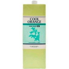 Lebel Cool Orange Hair Soap Super Cool - Шампунь для волос «Супер Холодный Апельсин» 1600 мл