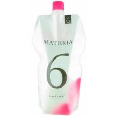 Lebel Materia Oxy 6% - Оксидант для смешивания с краской Materia 1000 мл