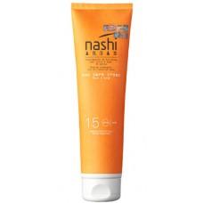 Nashi ARGAN Sun Care Cream SPF15 - Солнцезащитный крем для лица и тела SPF15, 150мл