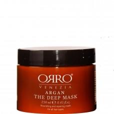 ORRO ARGAN Deep Mask - Маска глубокого действия с маслом АРГАНЫ 250мл