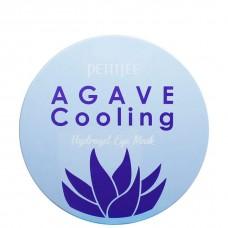 PETITFEE AGAVE Cooling hydrogel eye mask - Гидрогелевые патчи с экстрактом АГАВЫ 60шт