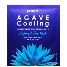 PETITFEE AGAVE Cooling hydrogel face mask - Маска гидрогелевая с экстрактом АГАВЫ 5 х 32гр