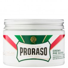 PRORASO GREEN PRE-SHAVE CREAM - Крем до бритья ЗЕЛЁНЫЙ 300мл