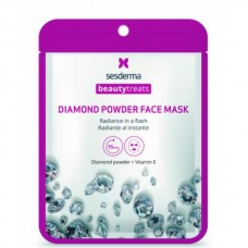 Sesderma BEAUTYTREATS Diamond powder face mask - Маска для сияния кожи 22мл